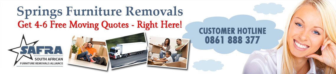 Springs Furniture Removals & Storage | Springs Removals